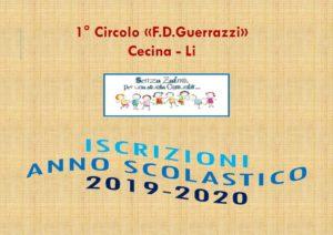 ISCRIZIONI 2019-2020
