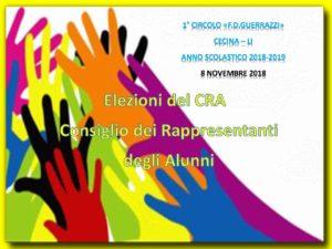 Elezioni alunni CRA – a.s. 2018/2019